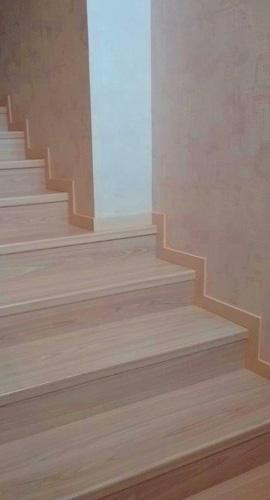 Отделка ступеней лестниц из ламината Квик Степ Элигна U1184