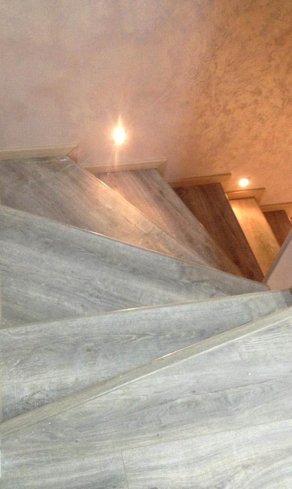 Профиля Quick-Step Incizo для отделки лестниц ламинатом