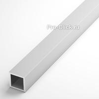 Алюминиевая квадратная труба 15х15 мм, толщина 1,5 мм.
