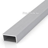 Алюминиевая прямоугольная труба 20х10 мм, толщина 1,5 мм.