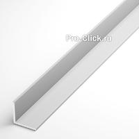 Алюминиевый уголок 25х25 мм, толщина 2 мм.