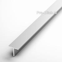 Алюминиевый тавр 15х15 мм, толщина 2 мм.