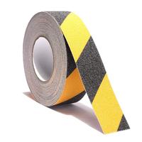 Абразивная сигнальная лента, чёрно-жёлтая