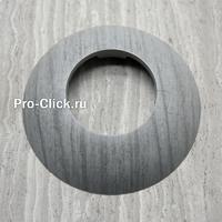 Пластиковая накладка на трубу Cezar 78 Дуб светло-серый