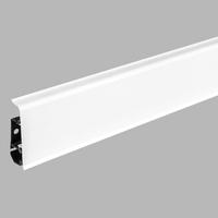Белый блеск №01 | Плинтус Arbiton INDO LM-70