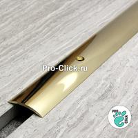 Латунный порог для пола 30 мм, ЛПО-30 100
