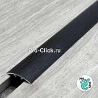 Порог для пола Черный дуб, ширина 30 мм, ПО-31