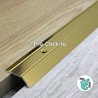 Разноуровневый порог ПР-32х8 Золото блеск
