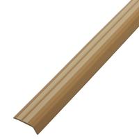 Резиновый уголок 42х15 мм, бежевый / кремовый