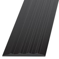 Резиновый накладной порог, ширина 28 мм.
