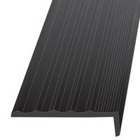 Резиновый порог для ступеней лестниц  50х20х12000 мм.