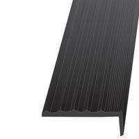 Резиновый порог для ступеней лестниц 41х18х12000 мм.