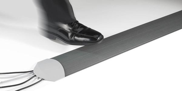 Алюминиевый кабель канал, для стен и пола