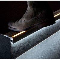 Порог с подсветкой на ступени лестниц STEP-2000 ANOD