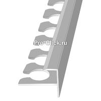 Алюминиевый F образный профиль для плитки
