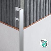 L - образный профиль для плитки толщиной 6 мм.