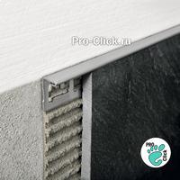 L - образный профиль из нержавеющей стали для плитки 12 мм.