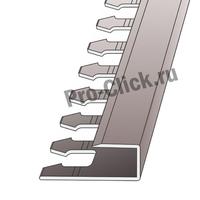 П - образный профиль для плитки 10 мм.