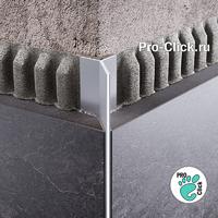 Y-образный профиль Мерседес ПМ-97 Серебро глянцевое
