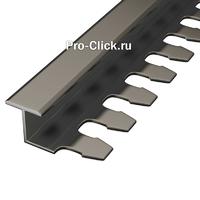 Гнущийся алюминиевый профиль PZ-10 (Бронза)