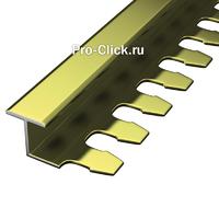 Гнущийся алюминиевый профиль PZ-10 (Золото)